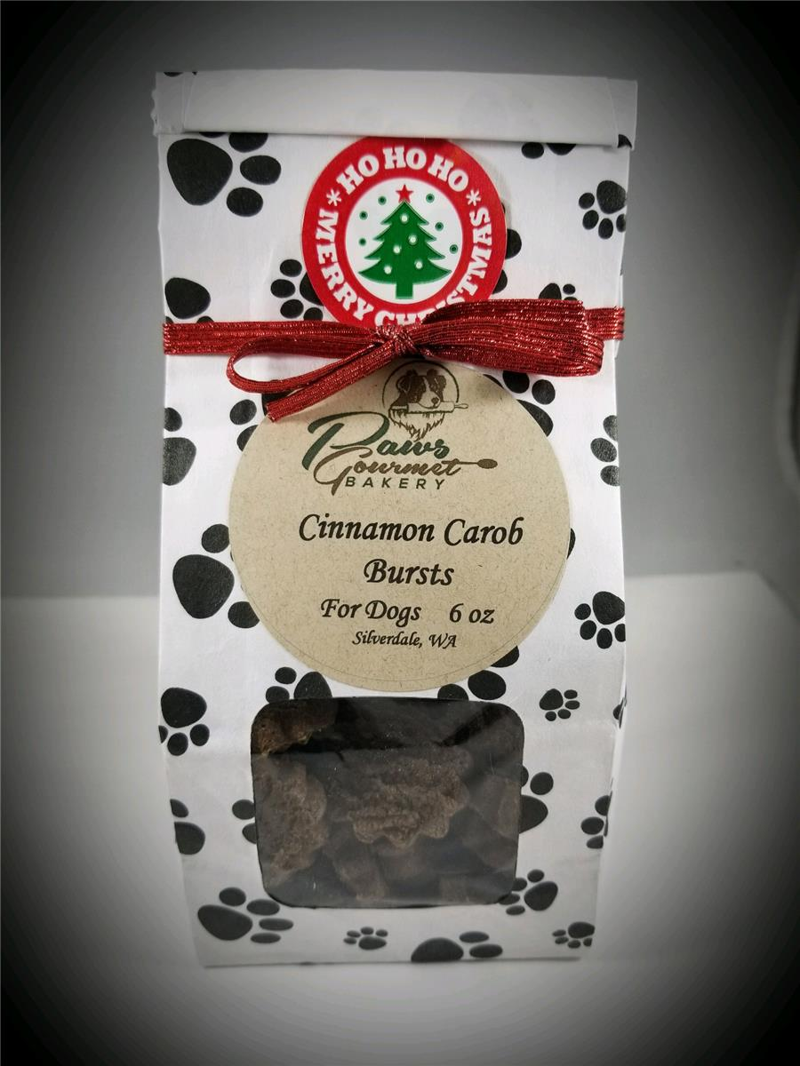 Cinnamon Carob Bursts - 6 oz Gift Bag