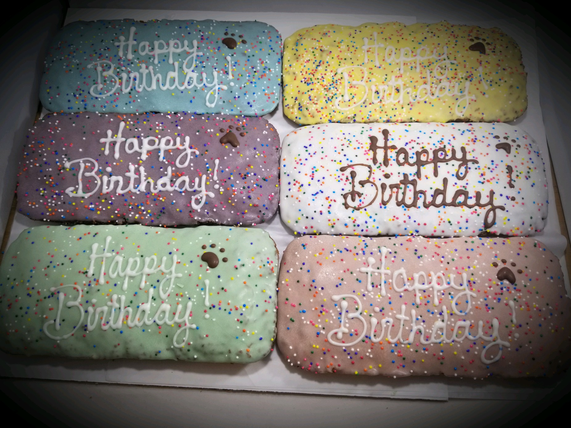 Birthday Sheet Cakes